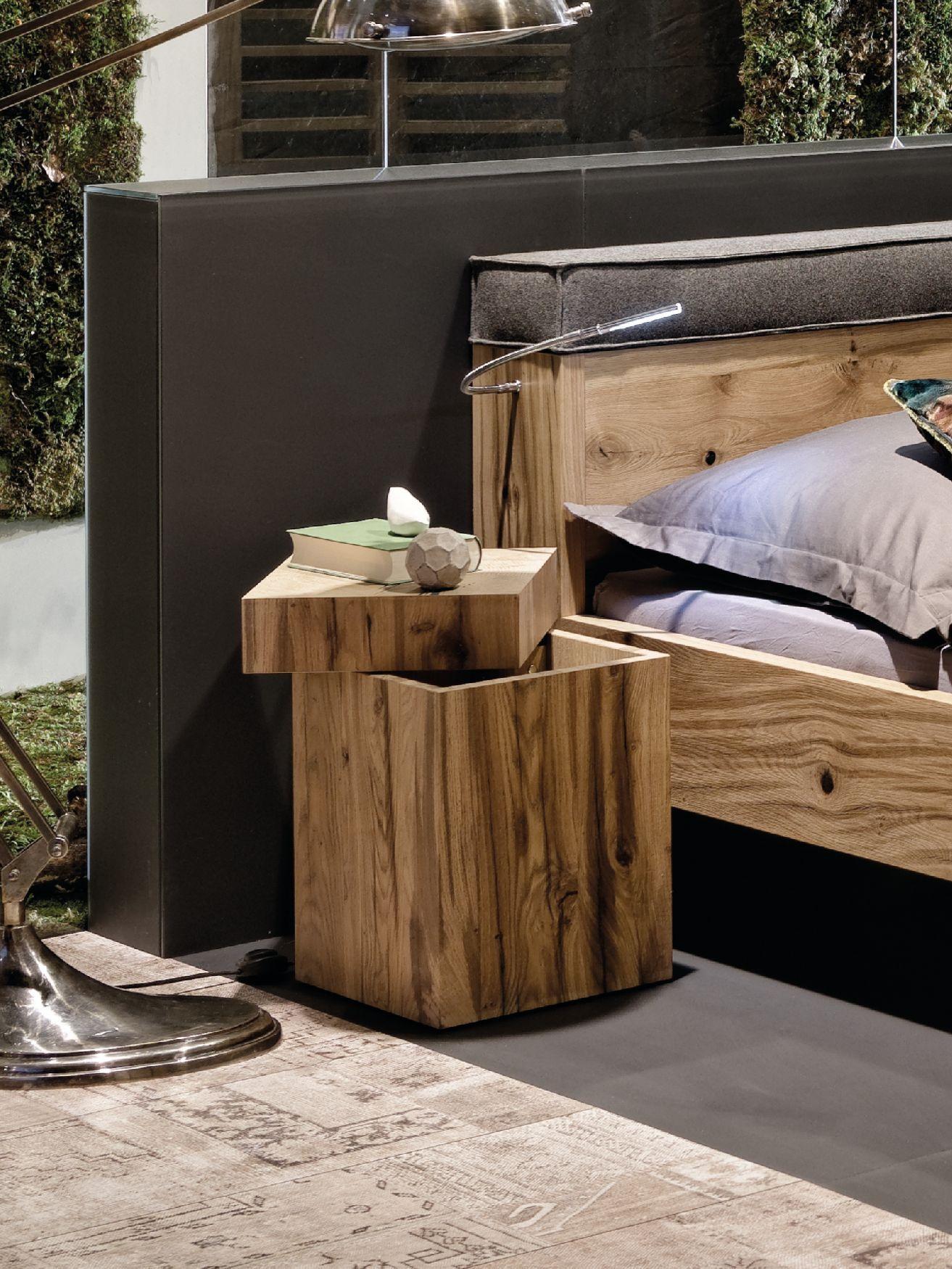 Nachttisch Altholz
