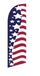 Usa Stars Stripes Side By Side Junior Swooper Flag Feather Banners Flag Stripes