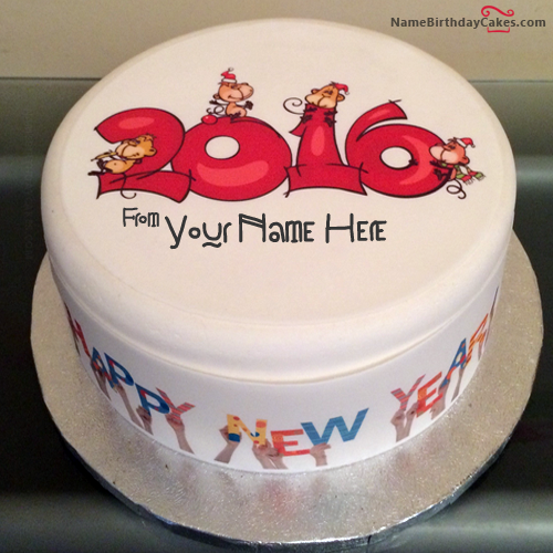 Birthday Cakes With Name and Wishes Fondant Cake Images Fondant