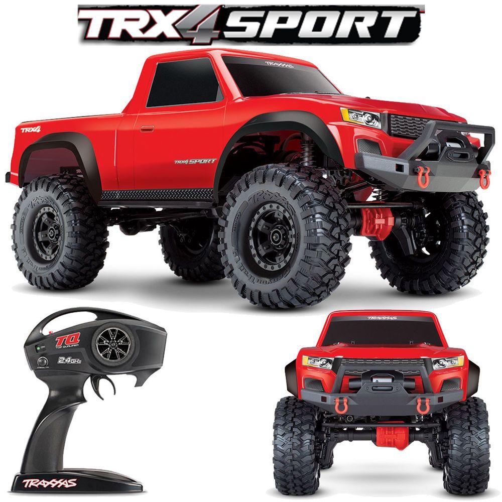 Traxxas 820244 1/10 TRX4 SPORT 4X4 Trail Crawler Truck
