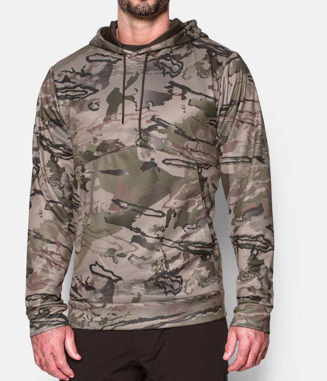 Under Armour Mens Camo Big Logo Hoodie 439228 Gander Mountain Hunting Clothes Hunting Hoodies Under Armour Camo [ 1200 x 1200 Pixel ]