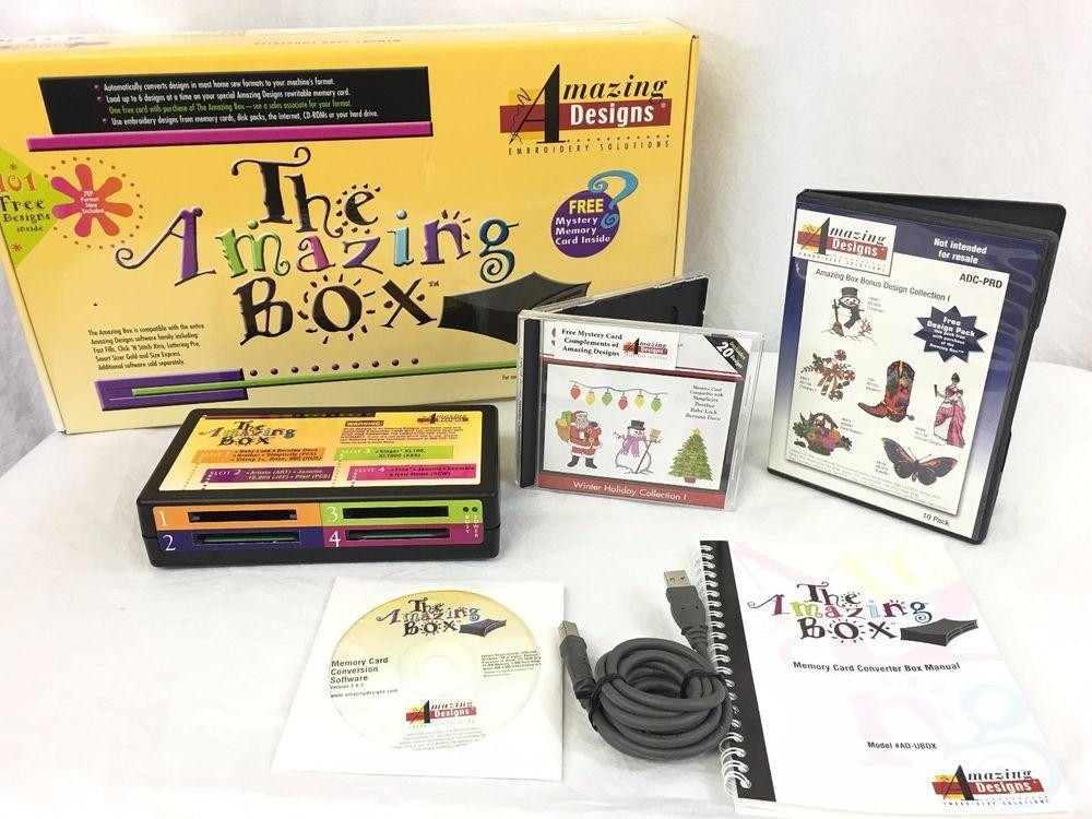 The Amazing Box Rewritable Memory Card Converter 101