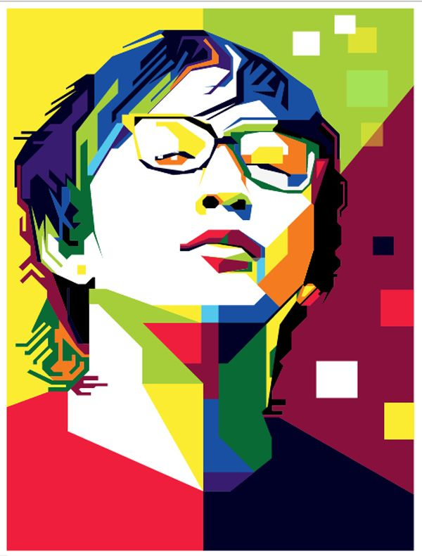 Préférence Tutorial WPAP With Photoshop and Illustrator | Art WPAP  VR14