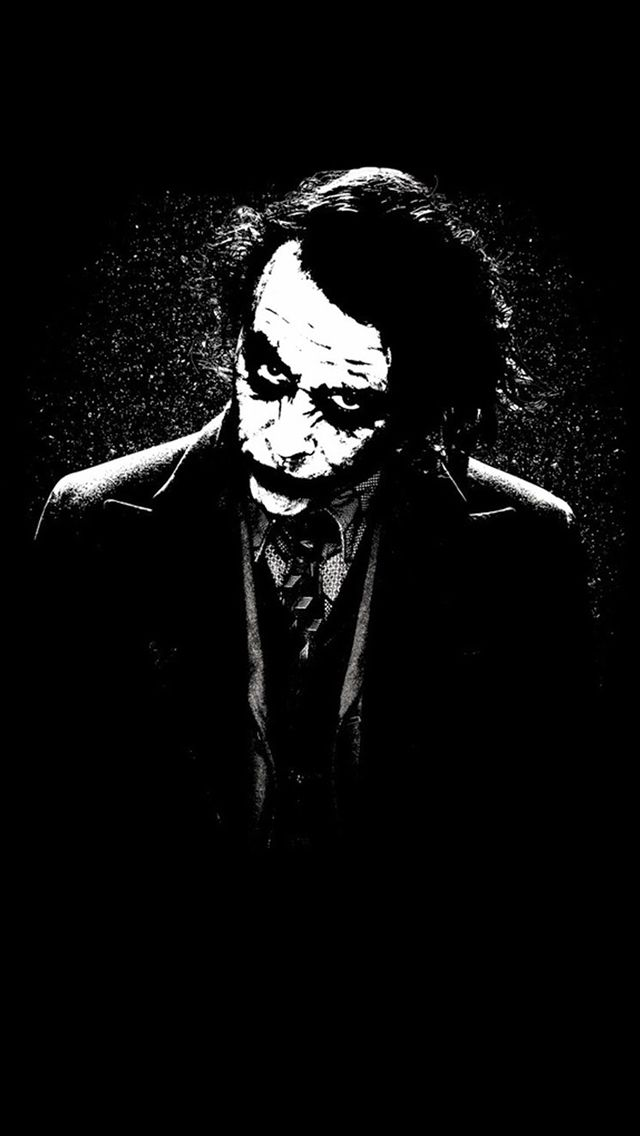 The Joker Batman Black White Painting Art Iphone 5s Wallpaper Download Iphone Wallpapers Ipa Joker Iphone Wallpaper Joker Wallpapers Live Wallpaper Iphone 7