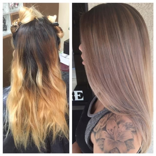 The Fix Home Bleach Job To Pro Sombre Bleached Hair Balayage