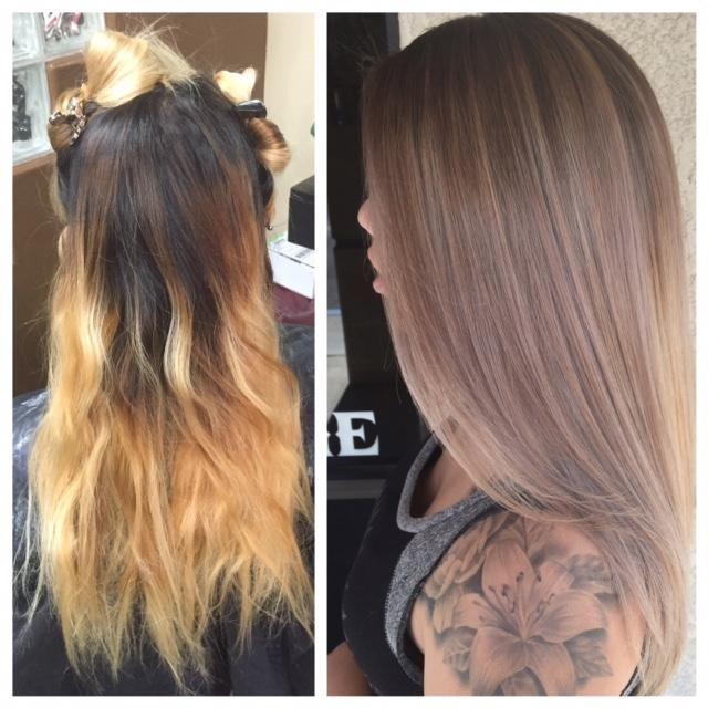 The Fix Home Bleach Bleached Hair Toning Bleached Hair Hair
