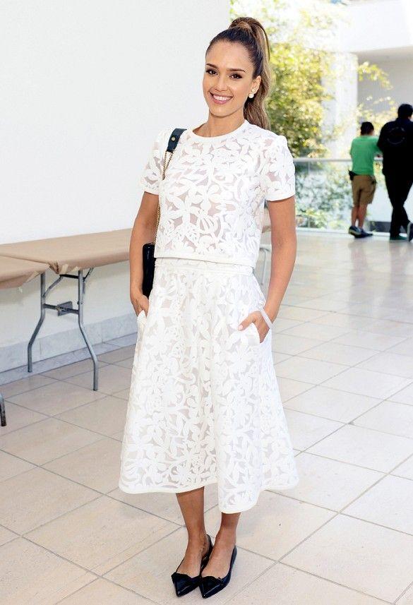 8 Modern Ways To Wear White Lace | My Style | Pinterest