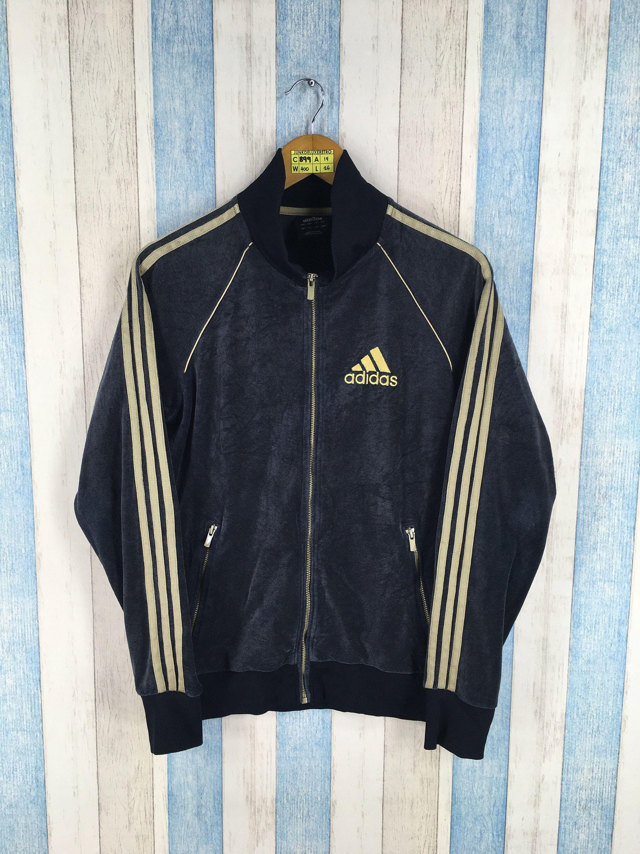 afbd8d19a4fb1 ADIDAS Jacket Black Small Women Adidas Firebird Three Stripes Track ...