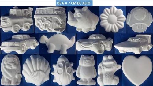 60 Figuras Infantiles De Yeso Para Pintar Por 270 270 00 En Mercado Libre Figuras De Yeso Figuras Infantiles Artesanal
