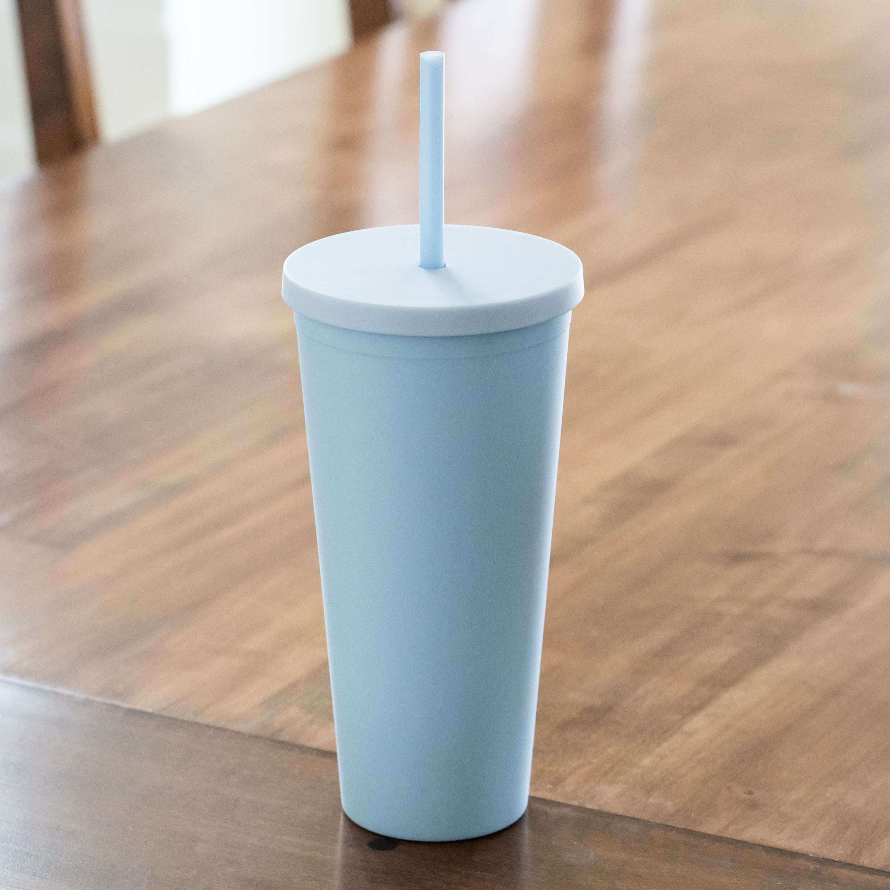 STRATA CUPS Tumbler Cups with Lids (8pack) 220z Colored