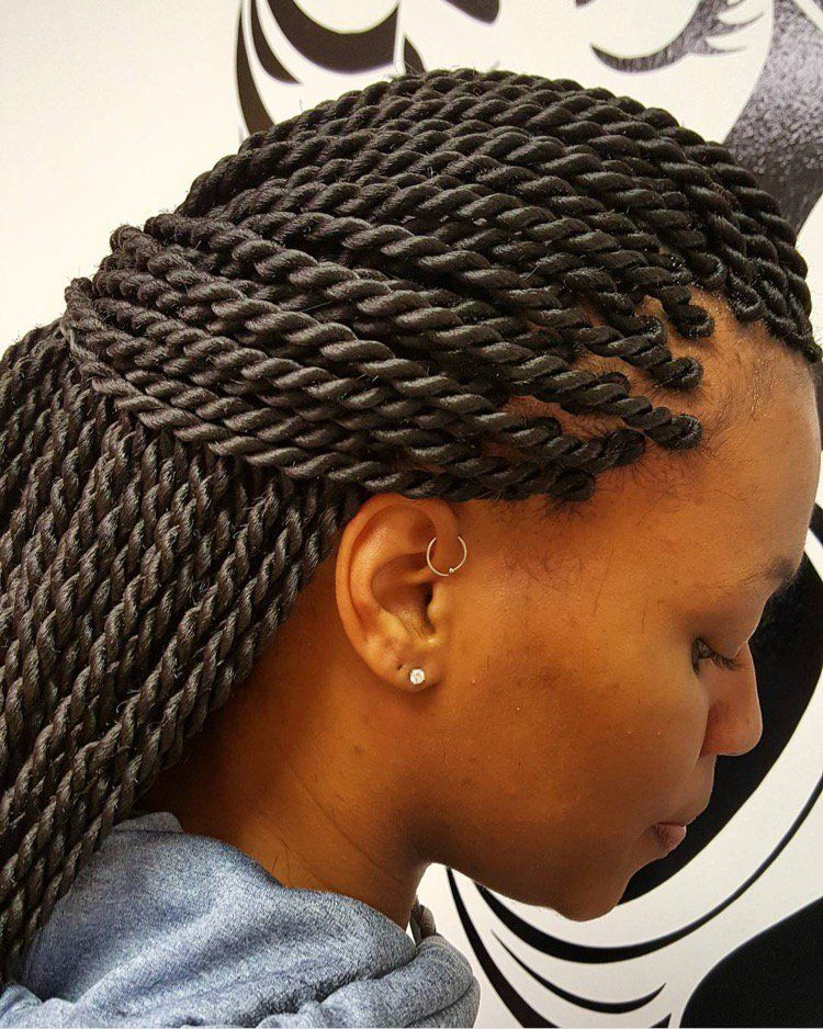 Super Neat Ropes Luscioushairbraiding Black Hair Information Community Senegalese Twist Hairstyles Twist Hairstyles Rope Braided Hairstyle