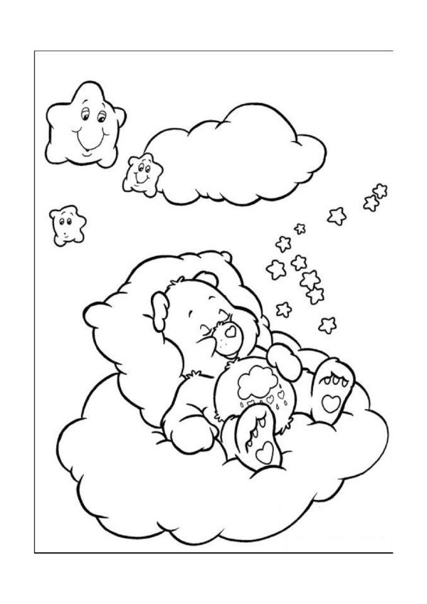 care bears coloring pages 18