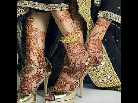 Bridal Mehndi Gta : Bridal mehndi latest feet design mehandi