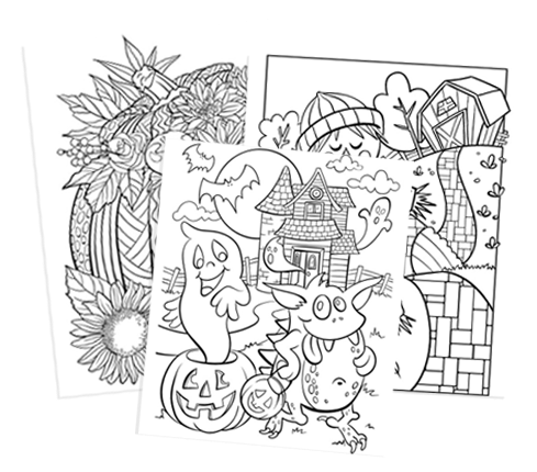 Ryan S World Halloween Coloring Pages Designs Trend