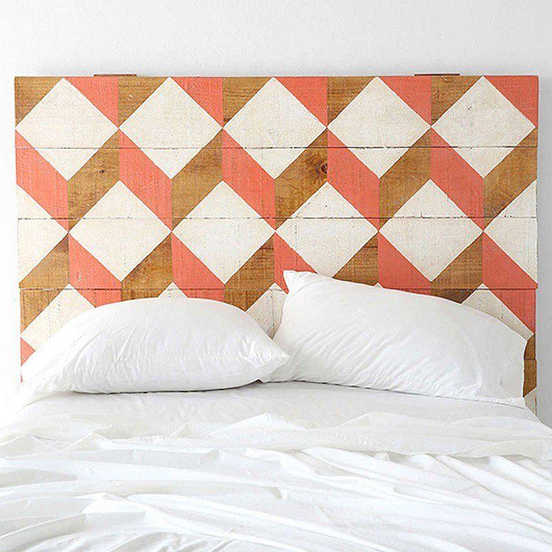 10 DIY pour fabriquer une tête de lit Bohemian chic decor
