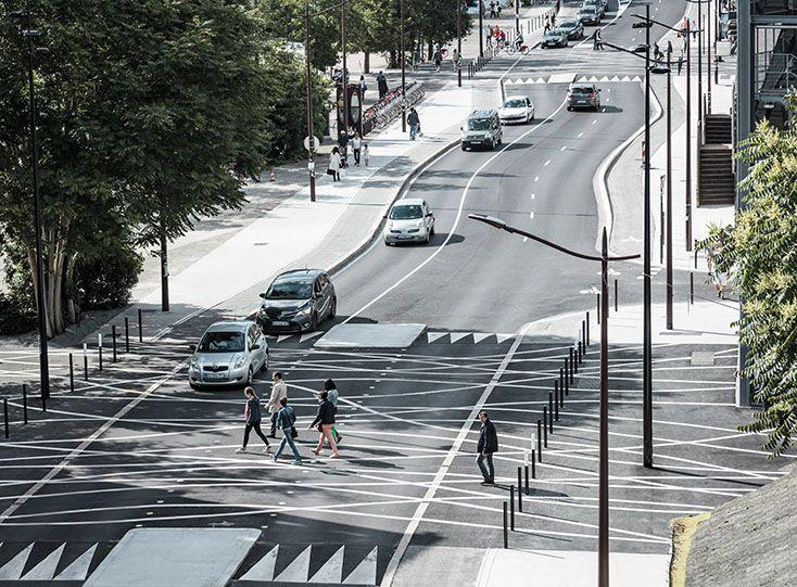 Aurelien Bory Traverses boulevard LeonBureau creation
