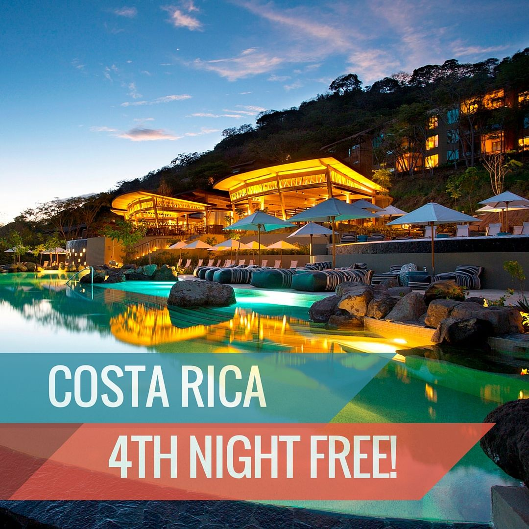 Vacation longer! Get a 5th night FREE at Andaz Costa Rica Resort