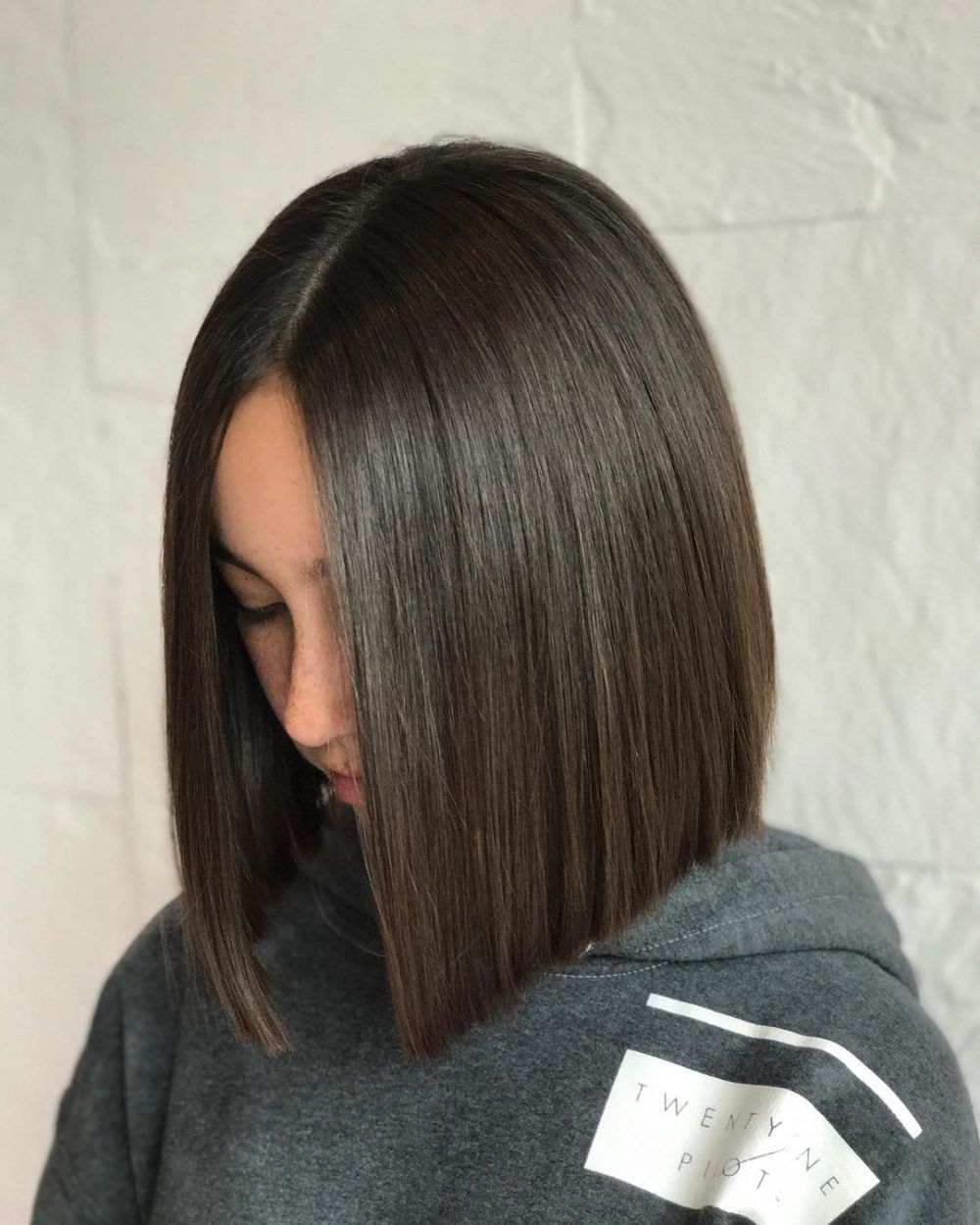 24 flattering middle part hairstyles in 2019 | middle part