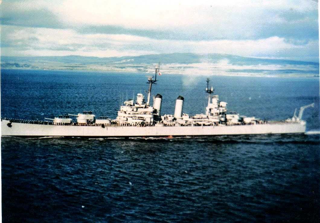Chilean Light Cruiser O Higgins Former Uss Brooklyn Cl 40 Rare Color Photo Aol Image 2 16 New Warship Us Battleships Battleship
