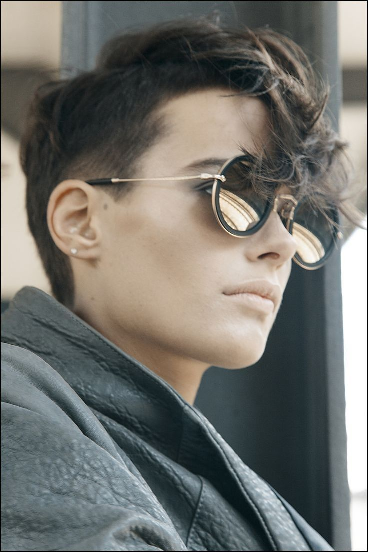 Short hairstyles for dykes