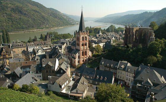 Bacharach, Rhine valley