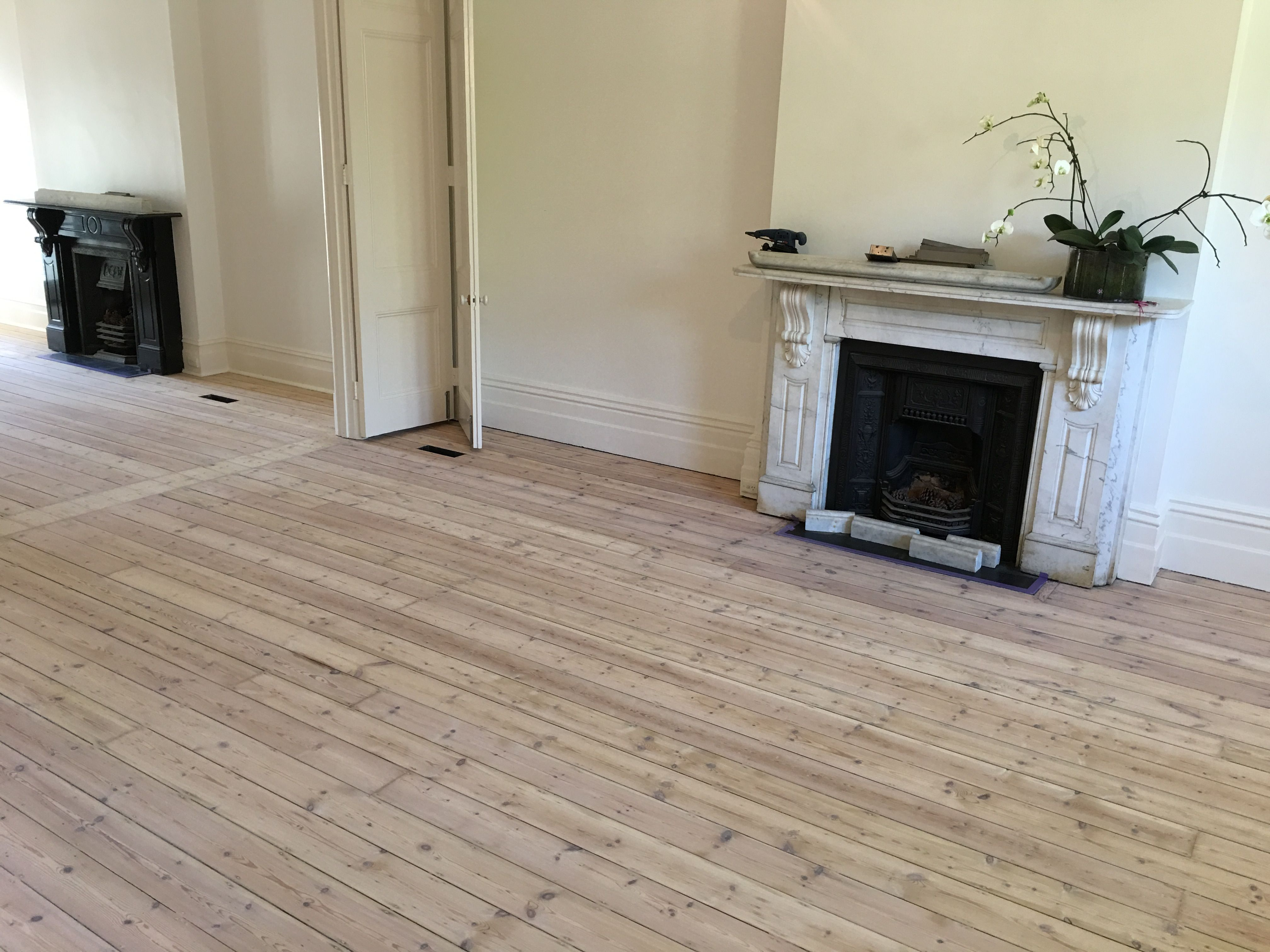 White Wash On Old Baltic Pine Floors Timber Flooring