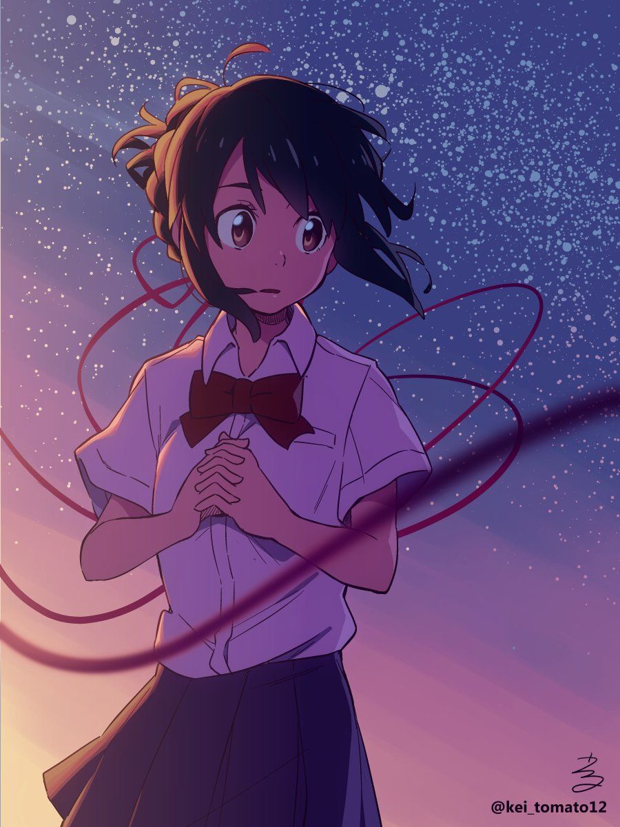 Kimi no nawa Kimi no nawa(your name) Pinterest Anime