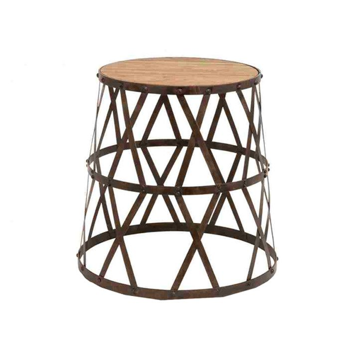 Industrial Accent Stool
