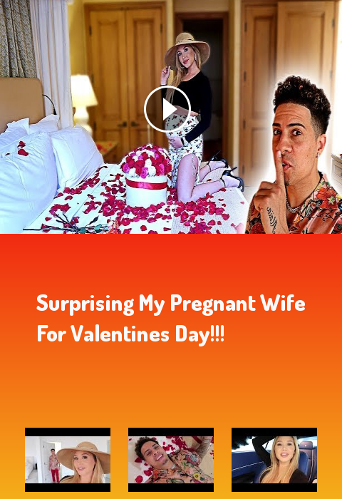 SURPRISING MY PREGNANT WIFE FOR VALENTINES DAY!!! #lifestyle #fitness #gym #motivation The ace famil...