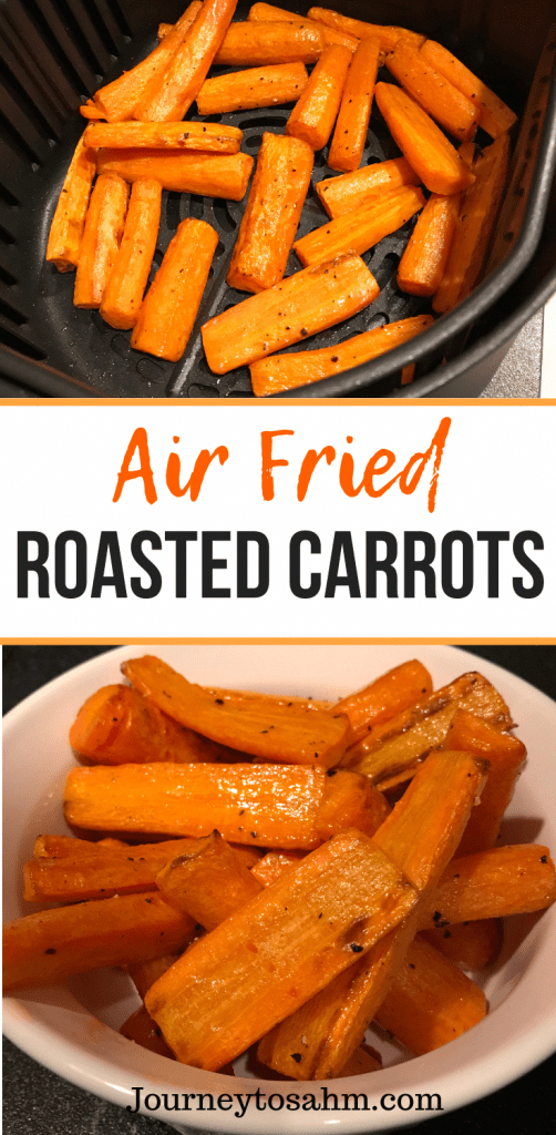 Simple Air Fried Roasted Carrots | Paleo, Vegan, Whole30 #easythingstocook