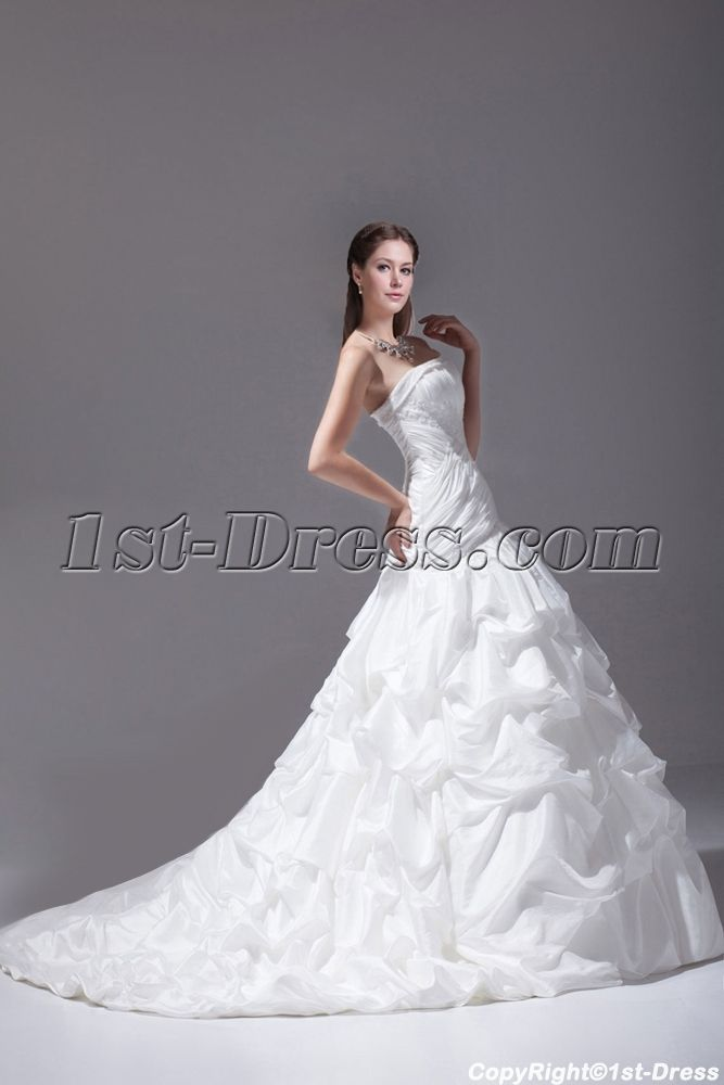 1st-dress.com Offers High Quality Elegant 2015 Mermaid Bridal Gown,Priced At Only US$289.00 (Free Shipping)