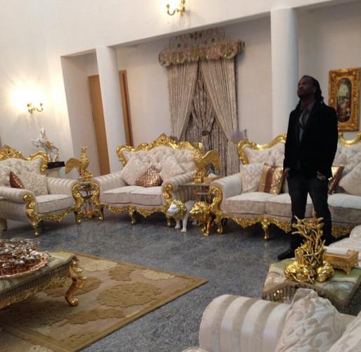 Nigerian Pop Artist In His Beautiful Home In Nigeria Decor Home Beautiful Homes