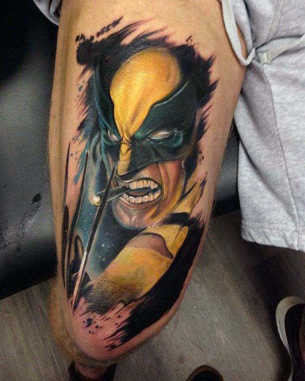 90 Wolverine Tattoo Designs For Men X Men Ink Ideas Tattoos