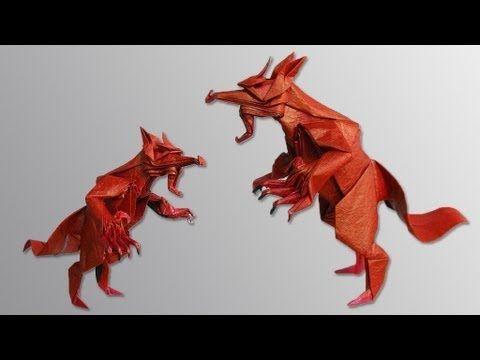Origami Werewolf Base Tutorial Kade Chan