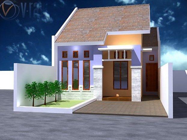 Desain Rumah Minimalis Type 27 Mungil Fasad Type 27 60 Pinterest