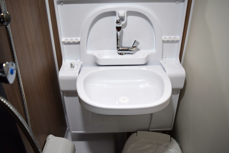 Feature In The Spotlight Cirrus Camper S Fold Out Bathroom Sink Camper Bathroom Sink Camper [ 4000 x 6000 Pixel ]