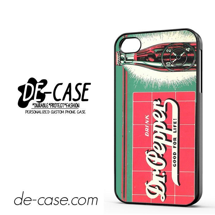 Dr Pepper Good For Life DEAL-3657 Apple Phonecase Cover For Iphone 4 / Iphone 4S
