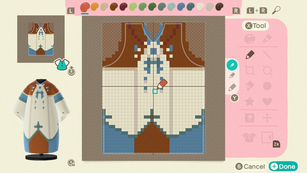 Luna Chai's patterns for Animal Crossing New Horizons