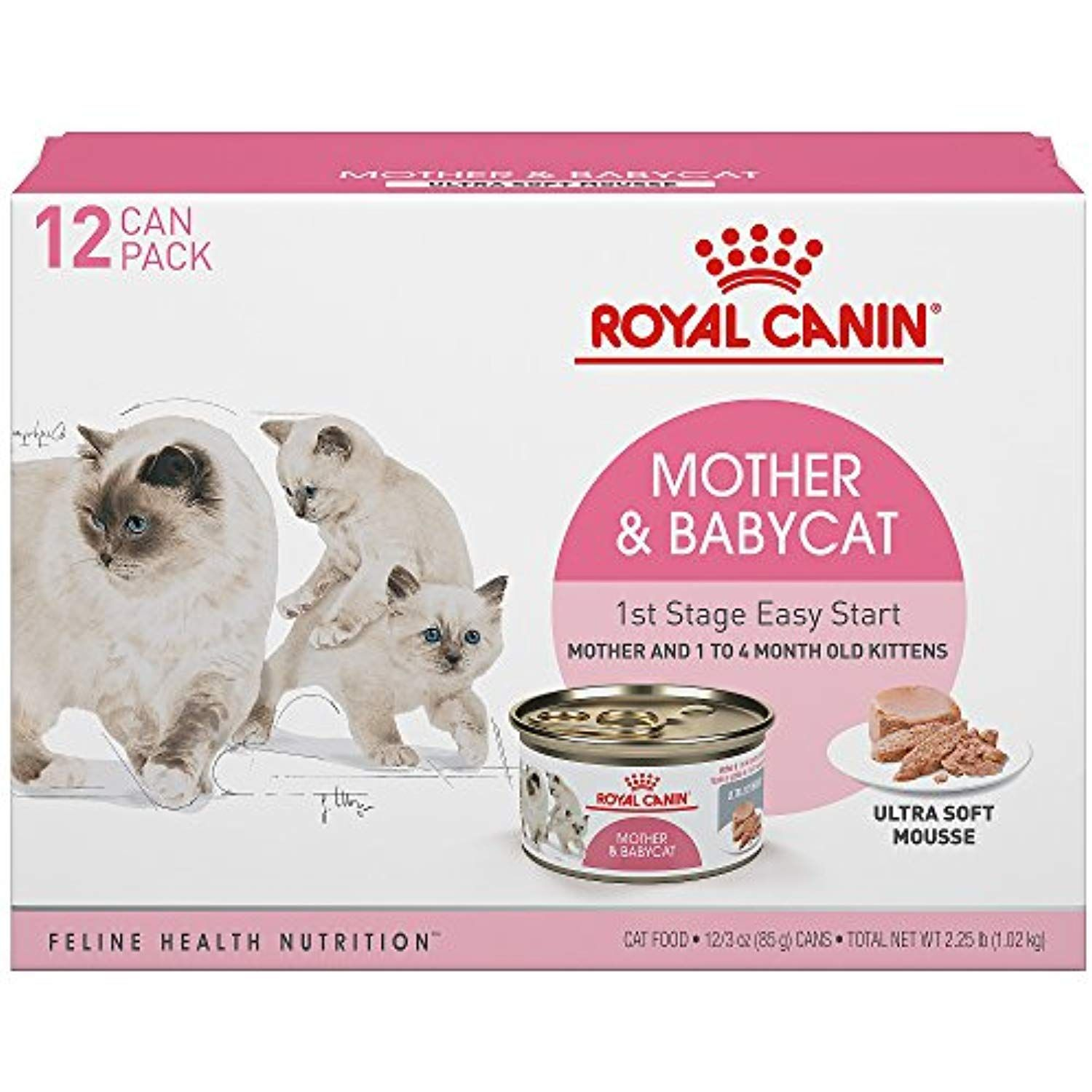 Royal Canin 175012 Feline Health Nutrition Ultra Soft Mousse Canned Cat Food 12 Pack 3 Oz You Can Find Out More Detai Kitten Food Cat Food Feline Health