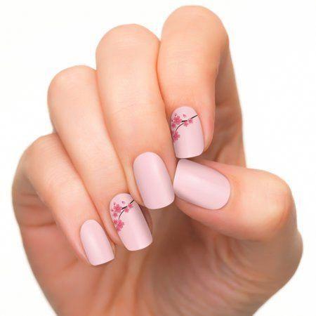 Coconut Nail Art by Incoco Nail Polish Strips, Blossom Blush - Walmart.com