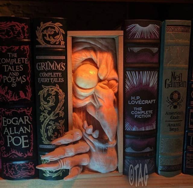 Book Nook Shelf Inserts Are Really Cool, And Everyone Should Know They Exist — Here Are 14 Of The Most Creative Ones You'll See