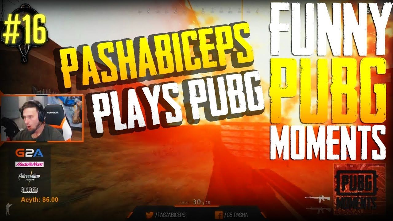 Pashabiceps Plays Pubg In This Moment Play Funny