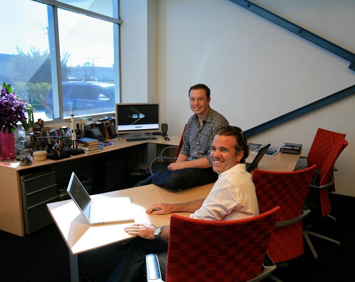 Desk set where tech ceos run empires tesla automobile
