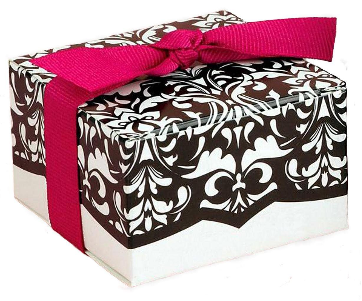 Black and White Favor and Gift Boxes (20pack