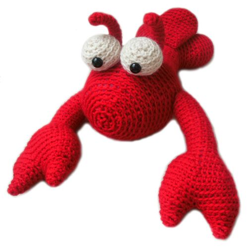 Crochet Lobster Pattern For Sale From Freshstitches Amigurumi