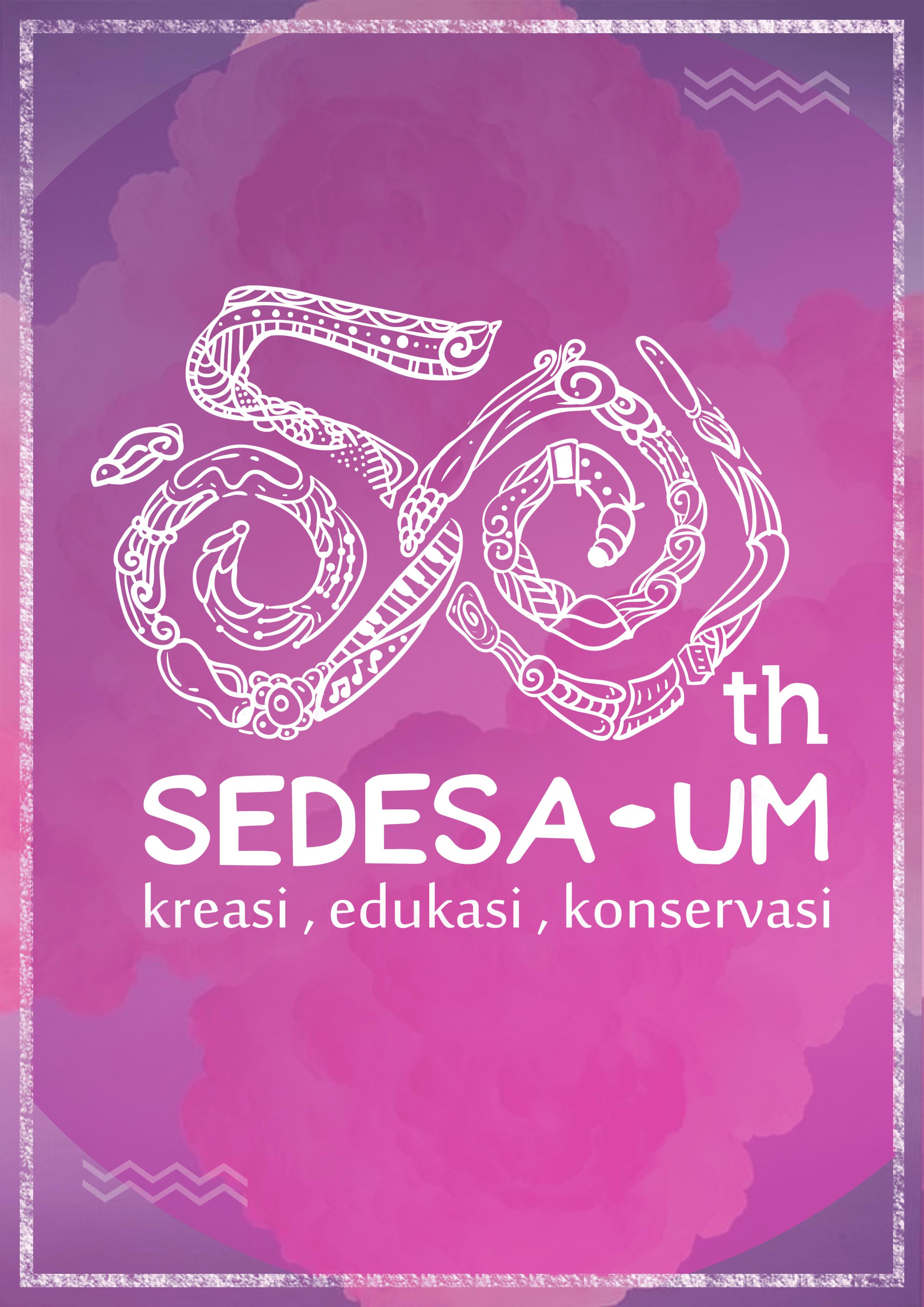 Anniversary Logo 50th Logo 50 Variation Logo Universitas Negeri Malang Um Indonesian University Indonesia Universitas Negeri Konservasi
