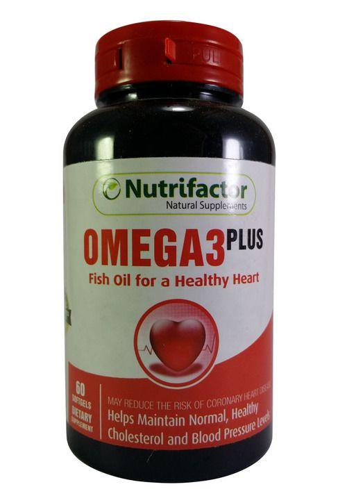 Nutrifactor Omega 3 Plus 60 Tablets Joint Vitamins Health Vitamins Heart Vitamins