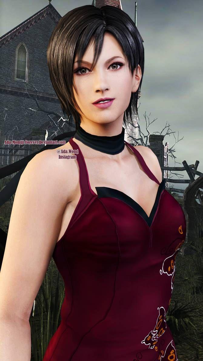 Ada Wong by DemonLeon3D on @DeviantArt | Personajes de