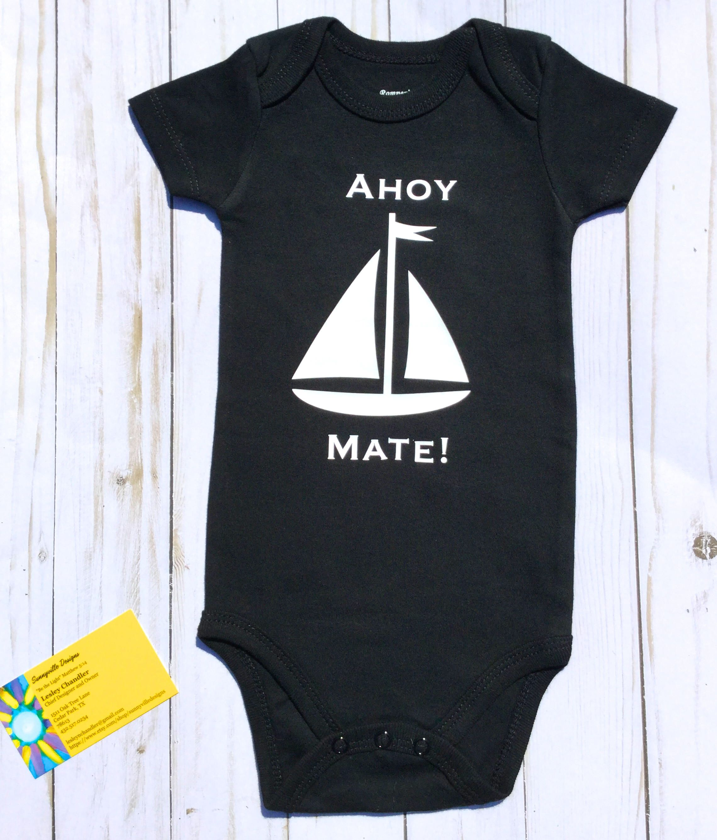 80c825c36d83 Nautical Baby Nautical Sailing Gender Neutral Gift Gift for Baby Boy ...