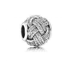 Pandora Zilveren Loveknots Bedel 791537CZ